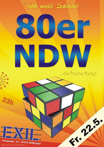 80er & NDW Party - Exil - 22.5
