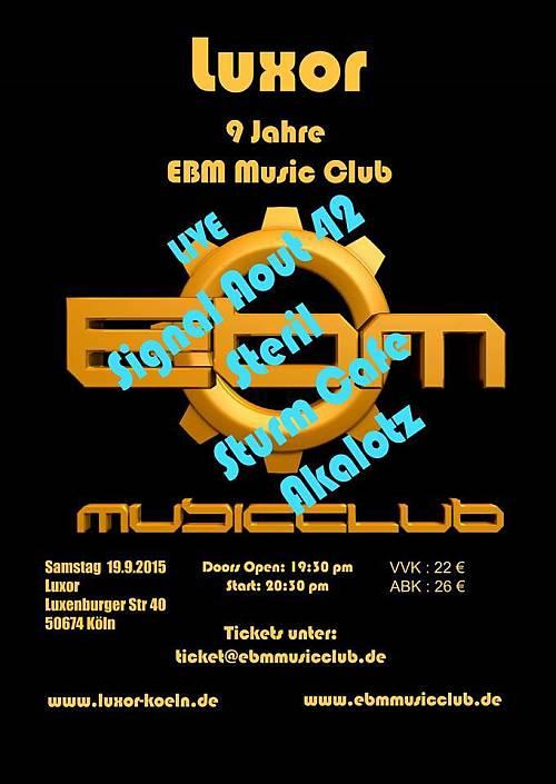 9 Jahre EBM Music Club - das Festival in Köln