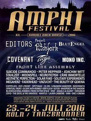 Amphi Festival 2016 - Programm