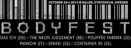 Bodyfest 2013 - EBM-Festival in Schweden