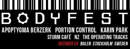 Bodyfest 2015 Flyer