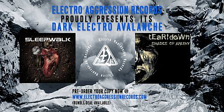 Flyer: Dark Electro Avalanche