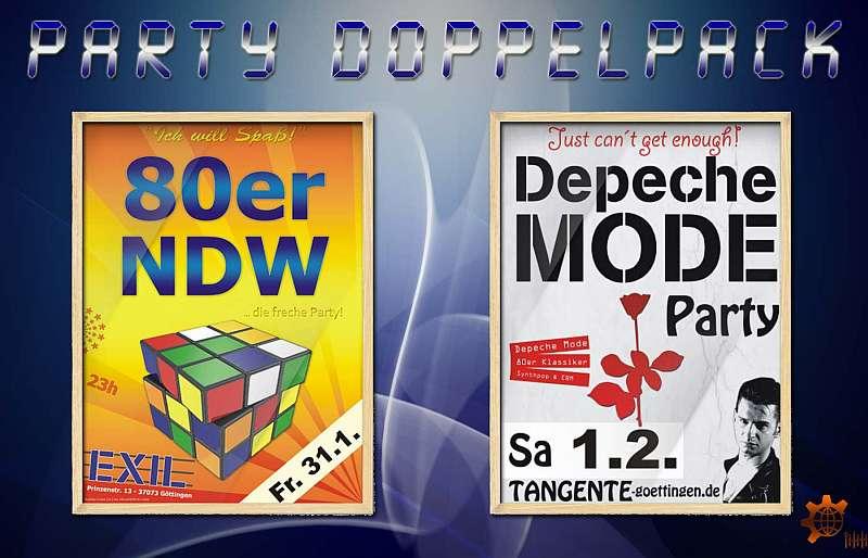 Göttinger Depeche Mode Party - 80er & NDW Party