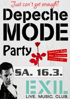 Flyer: Depeche Mode Party Göttingen am 16.03.2019
