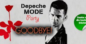 Artikelbild: Depeche Mode Party - das Finale am 06.10.2018