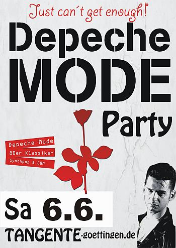 4 Jahre Depeche Mode Party - Tangente Göttingen