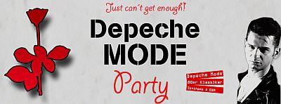 Depeche Mode Party Göttingen - Banner