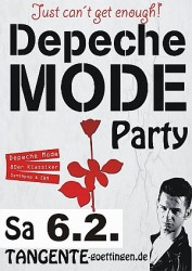 Depeche Mode Party Februar 2016 in GÖ