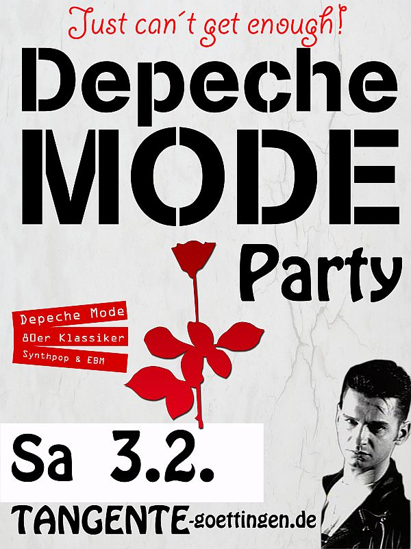 Depeche Mode Party 2018