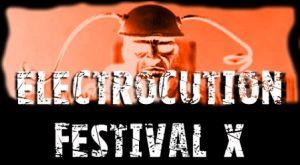 Electrocution Festival X Slogangrafik