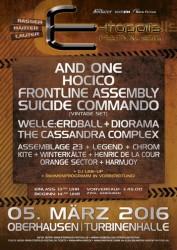 E-tropolis Festival 2016 - die Bands