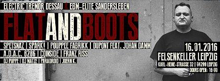 EBM festival Leipzig - Flat & Boots