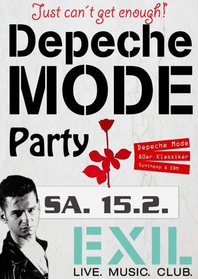 Flyer: Depeche Mode Party Göttingen am 15.02.2020 ab 22h