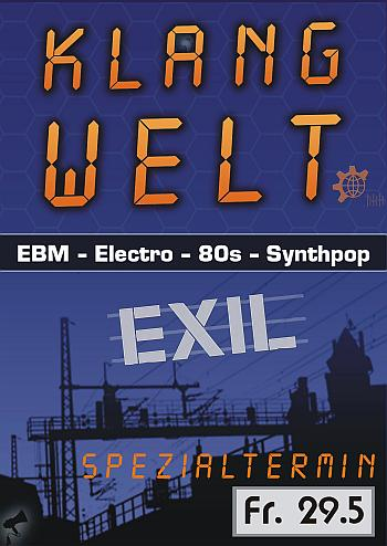 Klangwelt Spezialtermin - Exil Göttingen -29.5.