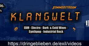 Flyer: KLANGWELT Sommerstream