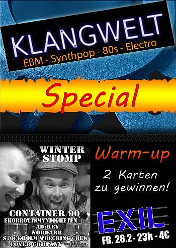 EBM Winter Stomp Warm-up