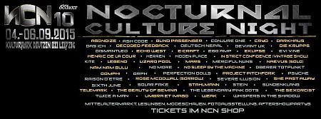 Nocturnal Culture Night 2015
