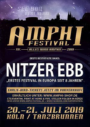 Nitzer Ebb auf dem Amphi Festival 2019