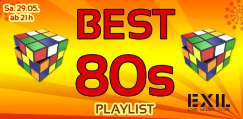 Artikelgrafik: Playlist – BEST 80s Party online