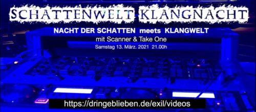 Schattenwelt Klangnacht Flyer