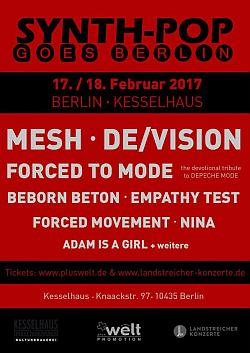 Synthpop goes Berlin - Flyer