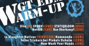 Flyer: EBM Warm-up beim WGT 2019