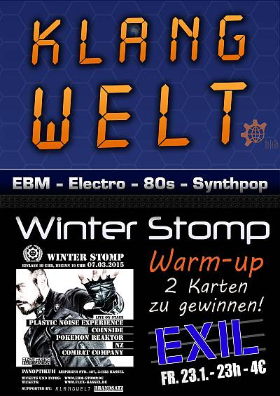Klangwelt Spezial - Winter Stomp Warm-up Party