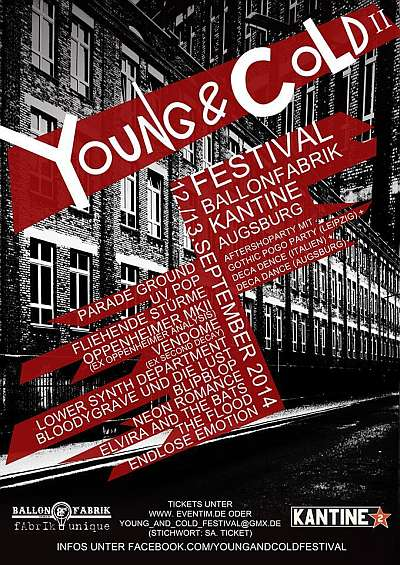 Youngd And Cold Festival II in Augsburg