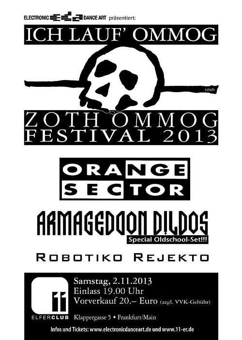 Zoth Ommog Festival 2013 in Frankfurt